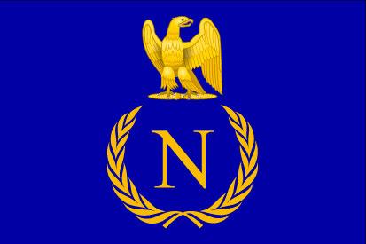 Bandera Napoleón I Bonaparte