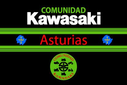 Bandera Kawasaki Asturias 2