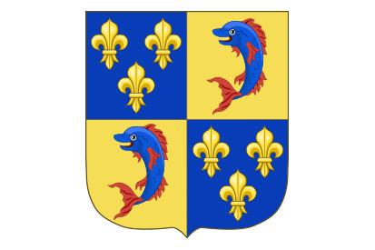 Bandera Dauphin de Viennois