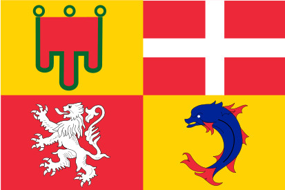 Bandera Auvernia-Ródano-Alpes