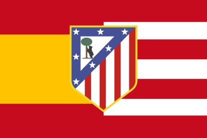 Bandera España Atleti