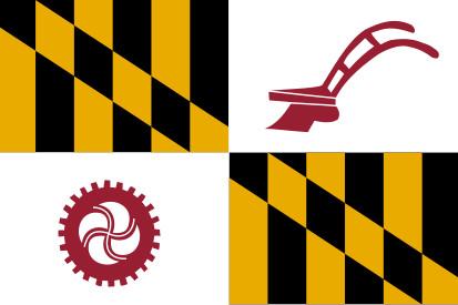 Bandera Condado de Baltimore