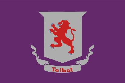 Bandera Condado de Talbot