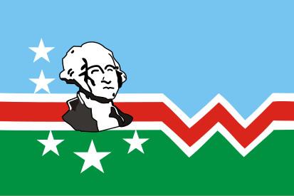 Bandera Condado de Washington