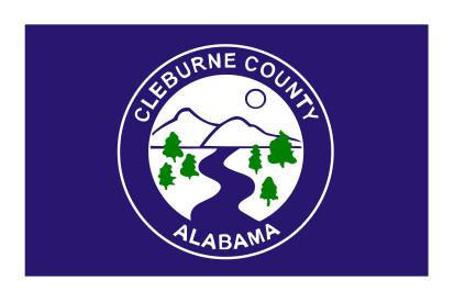 Bandera Condado de Cleburne