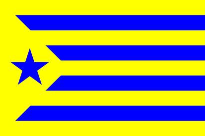 Bandera Estelada Palamós Club de Futbol
