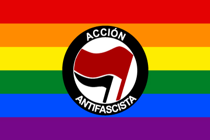 Bandera Acción Antifascista Gay