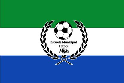 Bandera Escuela municipal fútbol Mijas