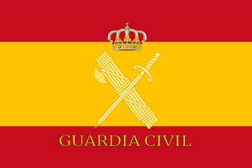 Bandera España Guardia Civil
