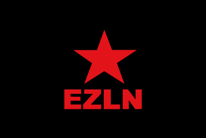 Bandera EZLN Ejercito Zapatista