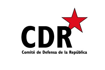 Bandera CDR Comité de Defensa de la República