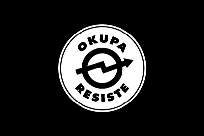 Bandera Okupa Resiste
