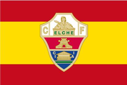Bandera España Elche CF