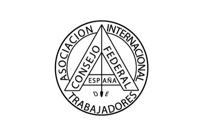 Bandera Consejo Federal de España de la Asociación Internacional de los Trabajadores