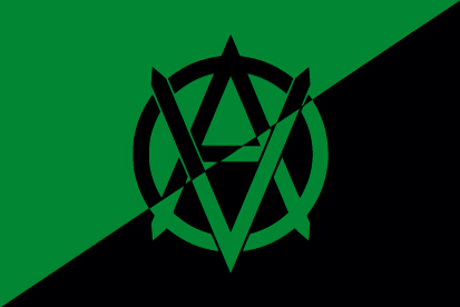 Bandera Veganarquismo