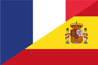 Bandera España Francia