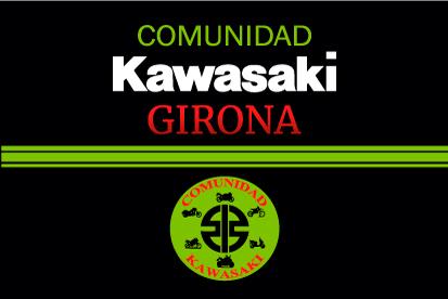 Bandera Comunidad Kawasaki Girona