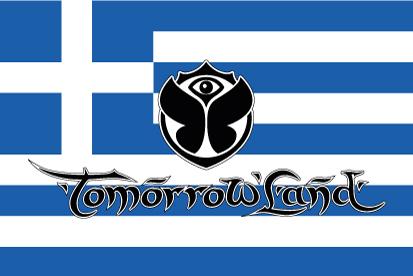 Bandera TomorrowLand Grecia