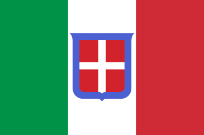 Drapeau National du Royaume d'Italie (1861-1946)