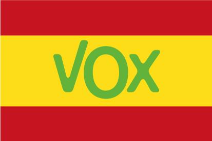 Bandera España VOX