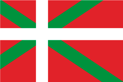Bandera Ikurriña-Caspe