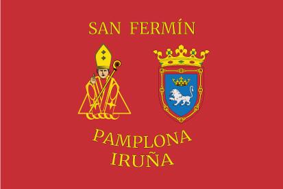Bandera San Fermín