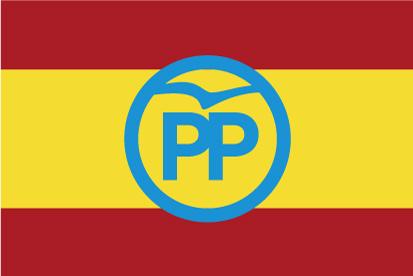 Bandera España PP