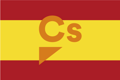 Bandera España Ciudadanos