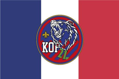 Bandera Francia KOP 21