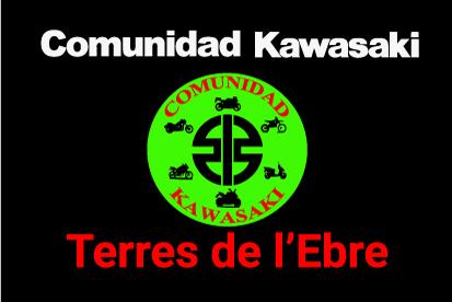 Bandera Comunidad Kawasaki Terres de l'Ebre