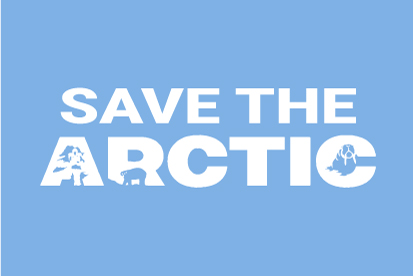 Bandera Save the Arctic