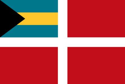 Bandera Bahamas mercante