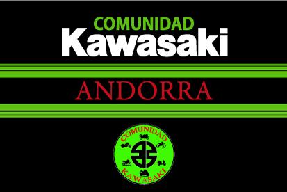 Bandera Comunidad Kawasaki Andorra