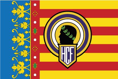 Bandera Comunidad Valenciana Hércules