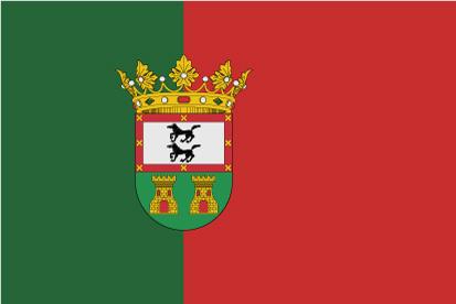 Bandera Guadamur con escudo