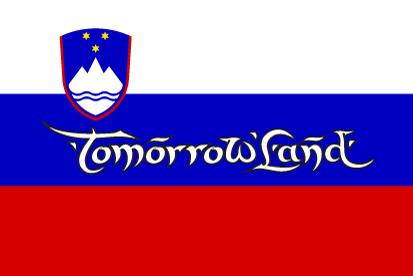 Bandera TomorrowLand Eslovenia