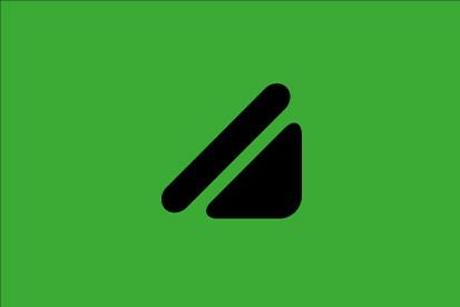 Drapeau Vert pour daltonien
