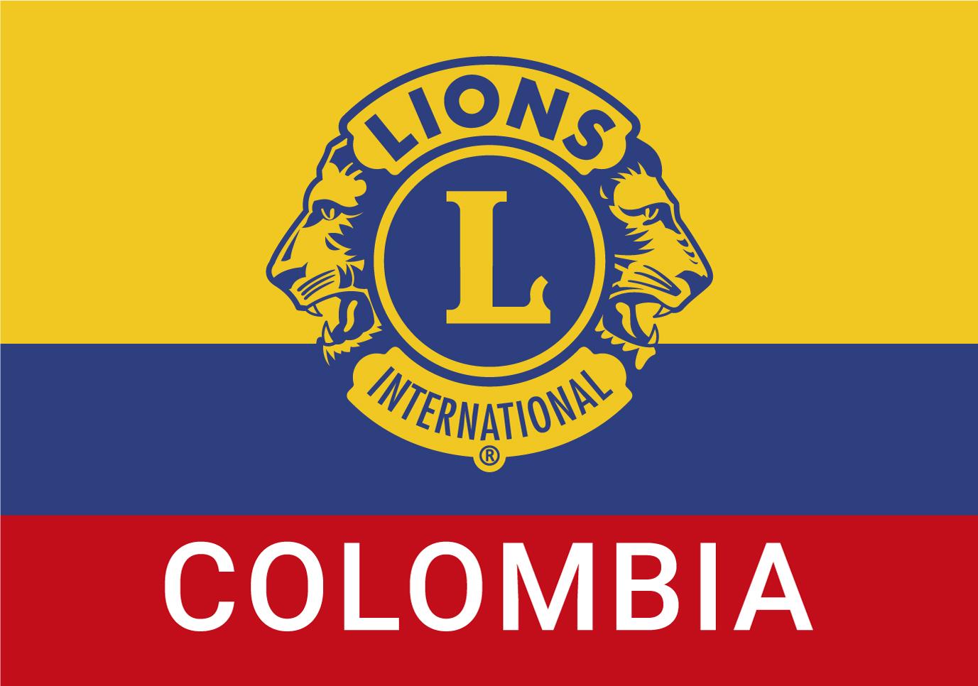 Bandera Lions International Colombia