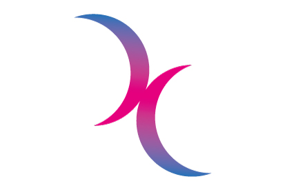 Bandera Bisexual lunas