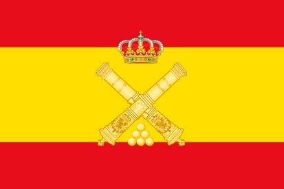 Bandera España Artillería