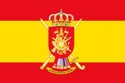 Bandera España Academia General Militar