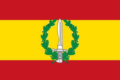 Bandera España Grupo de Operaciones Especiales