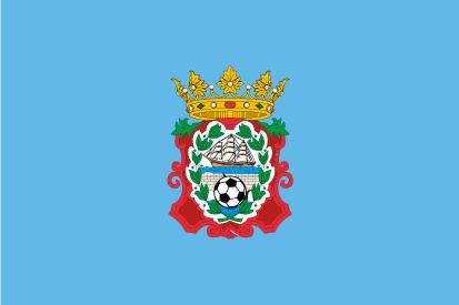 Bandera C D Moaña