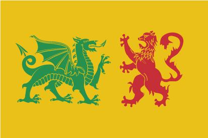 Bandera Dinastía Real Sueva