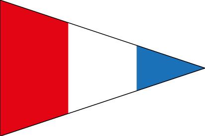 Bandera Nautical number 3 ISC