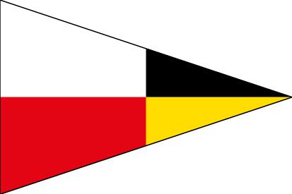 Bandera Náuticas número 9 CIS