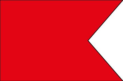 Bandera Abecedario Náutico CIS - B Bravo