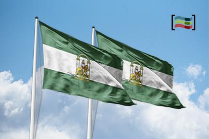 Bandera Pack 2 Banderas Andalucía