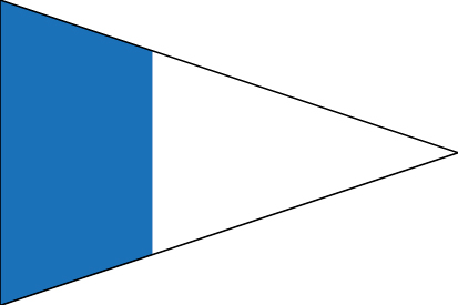 Bandera Náuticas 2º repetidor CIS