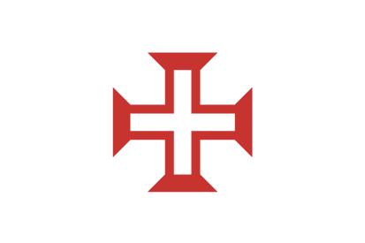 Bandera Cruz de la Orden de Cristo